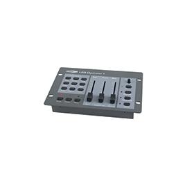 Mesa para controlo dos PAR 64 LED